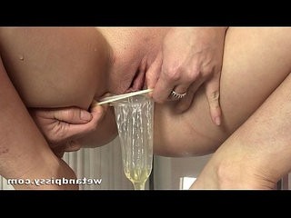 Pissy Pussy Action With Queenie