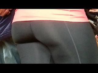Tight Spandex Ass