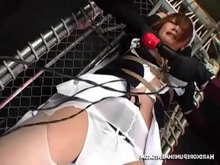 Submissive Asian Roleplaying Nurse Toyed In Torrid Threesome