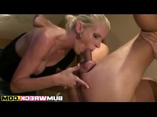 Horny Blonde Wife Strapon