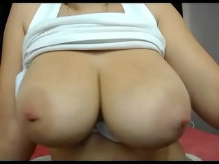 Busty pregnant wife live show on cam