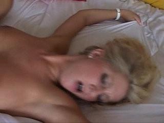 Smoking hot blone with big tits named sami fucks