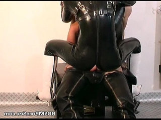 Filthy and kinky latex whore getting